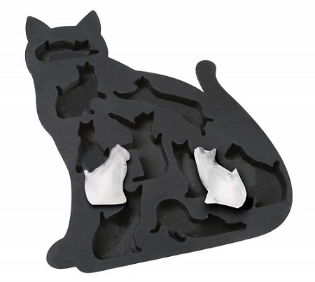Cat Shaped Ice Cubes Tray for Cat Loving Daughters